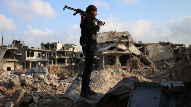 Resultat d'imatges de siria imagenes  guerra