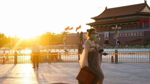 Quảng trường Thiên An Môn, Bắc Kinh ngày 24/5