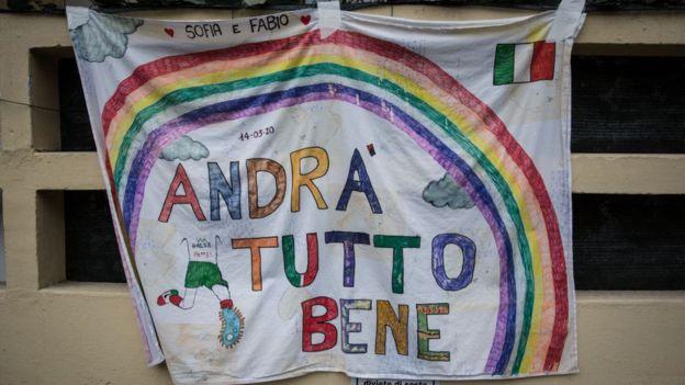Флаг в Италии