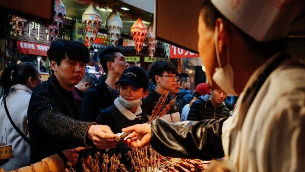 北京商場顧客
