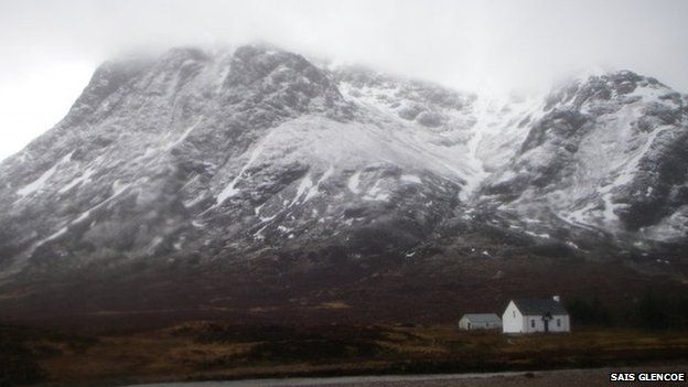 glencoe; mountain rescue