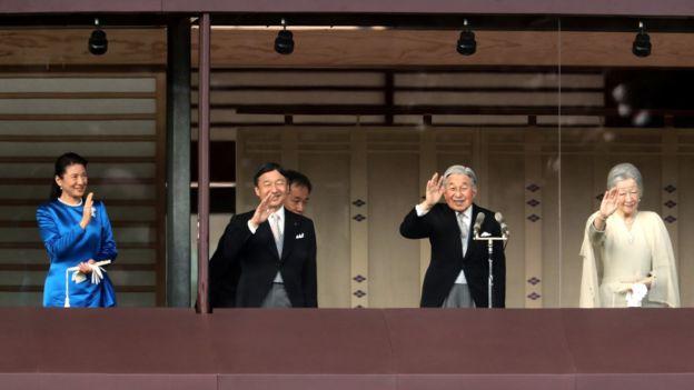 Los problemas de salud por los que atraviesa Akihito lo obligaron a delegar su cargo en su hijo mayor, el príncipe Naruhito.