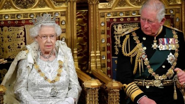 The Queen and the Prince of Wales