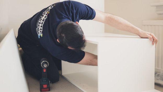 Man doing repairs