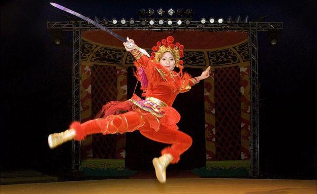 Mulan do Circo Estatal chines