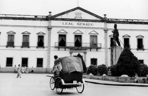 澳門議事亭前地(約1955年)