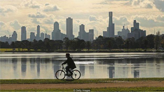 Bicicleta no parque
