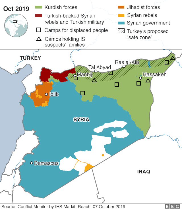 Turkey Syria offensive: Heavy fighting on second day of ...