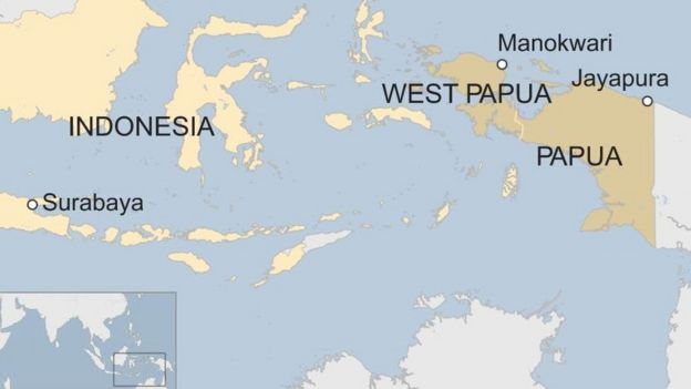 Map Of England Joke.Indonesia Papua Local Parliament Torched In Manokwari Unrest Bbc News