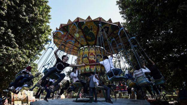 من مظاهر الاحتفال بالعيد في مصر
