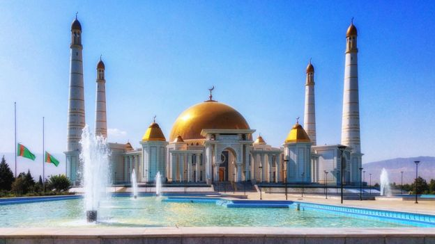 Turkmenbashi Ruhy Mosque in Ashgabad