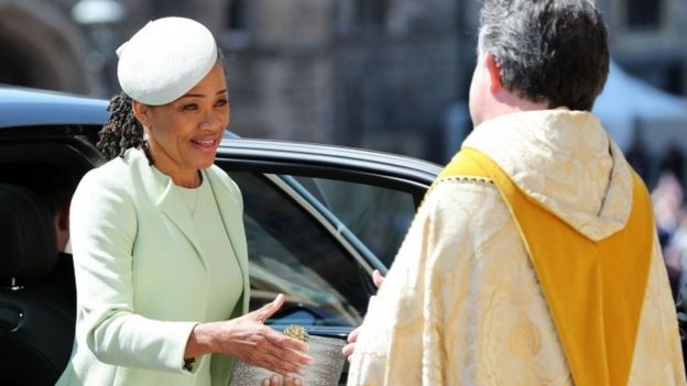 Meghan's mother, Doria Ragland