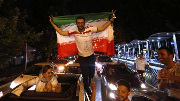 شادی در تهران