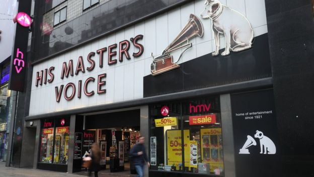 Hmv The Rise And Fall Of A Music Icon Bbc News