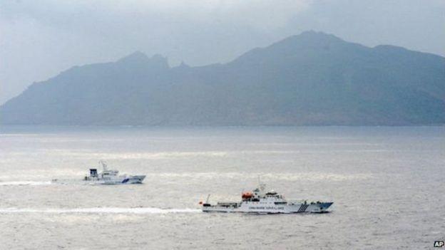 釣魚島爭議水域