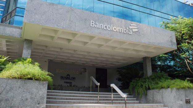 Una de las sedes de Bancolombia en Panamá.