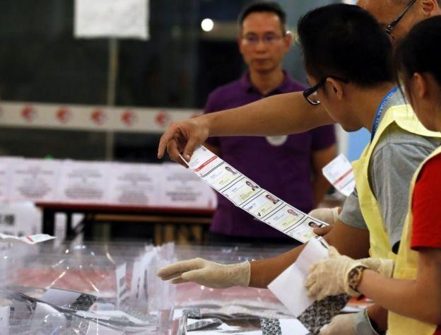 Hong Kong seçimler