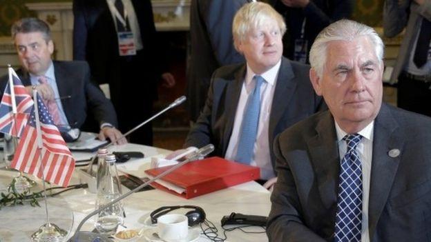 U.S. Secretary of State Rex Tillerson, Britain