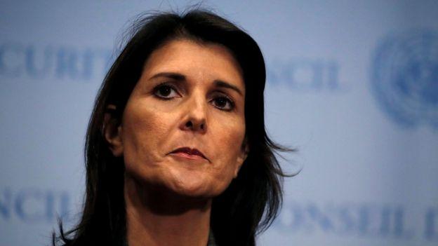 نیکی هیلی، نماینده آمریکا در سازمان ملل هم اتهام ایران علیه آمریکا در ارتباط با حمله اهواز را رد کرده است
