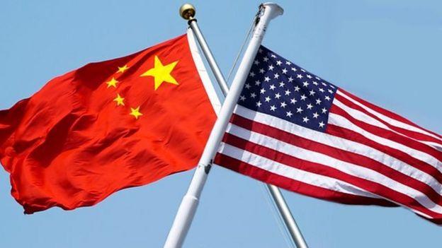 中国,美国