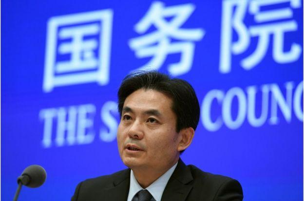 中国国务院港澳办发言人杨光