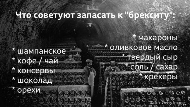 """Что запасать к """"брекситу"""""""