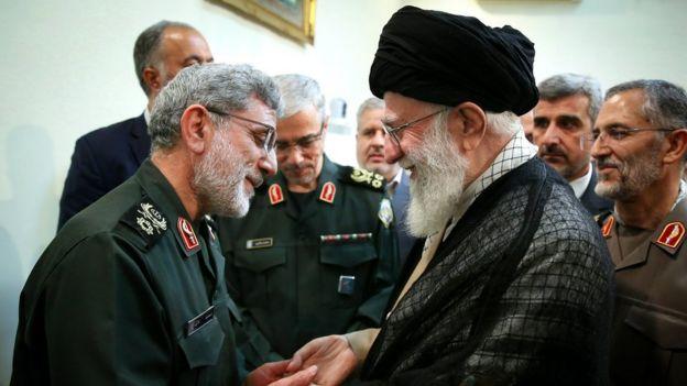 خامنهای و قاآنی