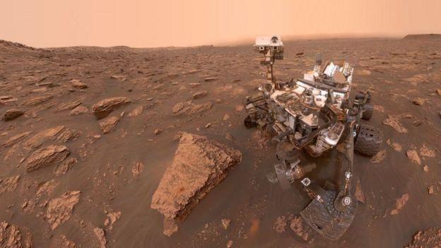 Фото марсохода НАСА