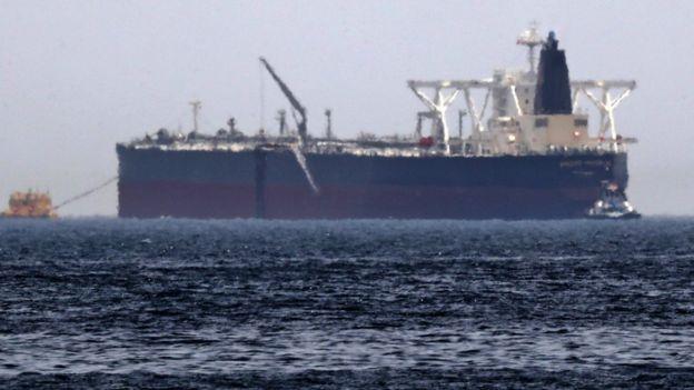 सऊदी का तेल का टैंकर