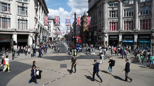 oxford street to be pedestrianised by 2020 bbc news