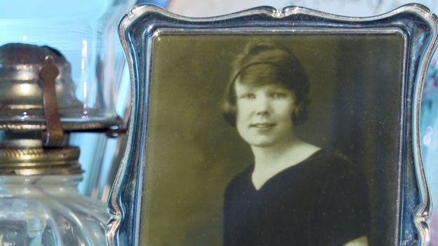 A photograph of Margaret Gallagher's mother