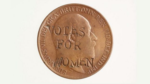 Suffragette penny