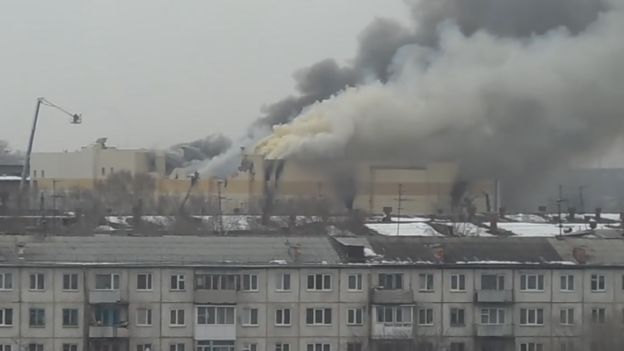 Incêndio no shopping de Kemerovo