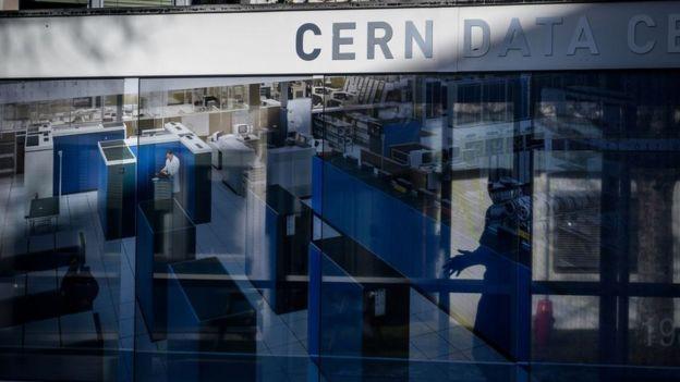 CERN's entrance