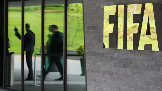Un edificio de la FIFA.