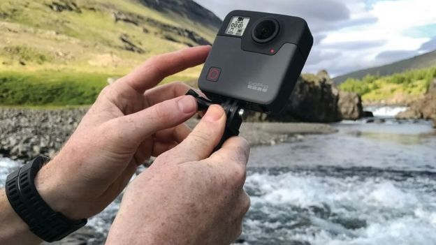 GoPro Fusion aims to take 360-degree video mainstream - BBC News