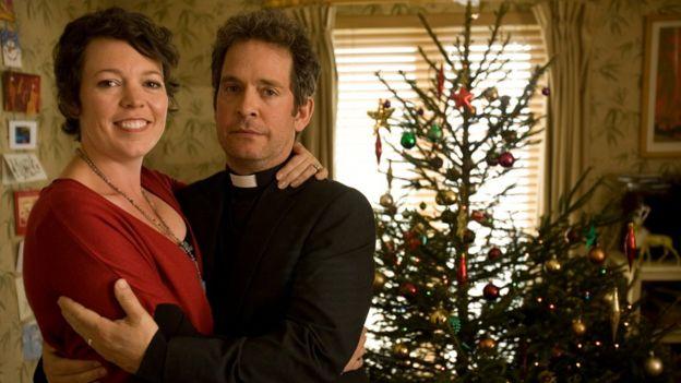 Olivia Colman and Tom Hollander in Rev (2011)