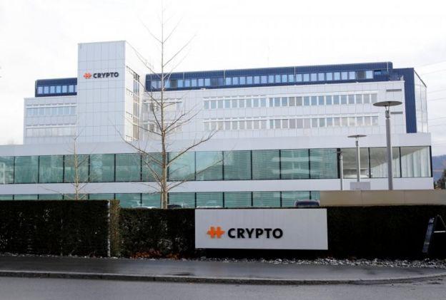 Crypto şirketinin İsviçre'deki genel merkezi