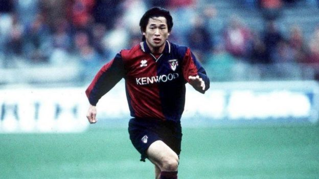 Miura's move to Genoa was funded by sponsors - he played 21 times in Italy, scoring one goal