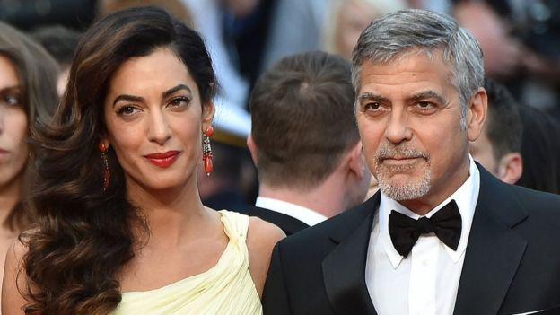 George and Amal will come to Edinburgh next March _97122292_gettyimages-531017200