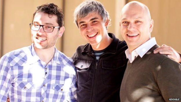 Larry Page and Tony Fadell