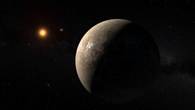 Экзопланета Proxima b.