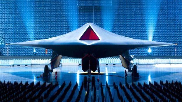 صورة لنموذج للمقاتلة تارانيس الذكية