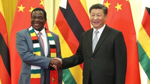 姆南加古瓦就任沒久,中國就向對方發出賀電。