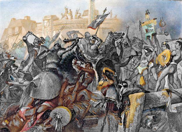 Caída de Tenochtilán