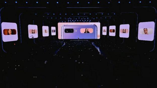 Z Flip phone