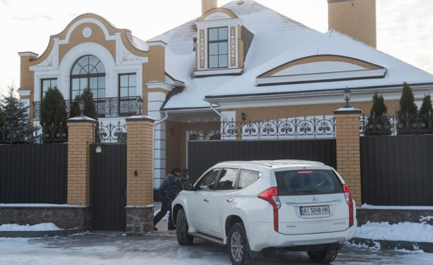SBU search in Voronkiv, 30 Nov 18