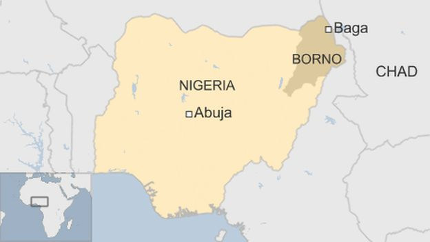 baga map