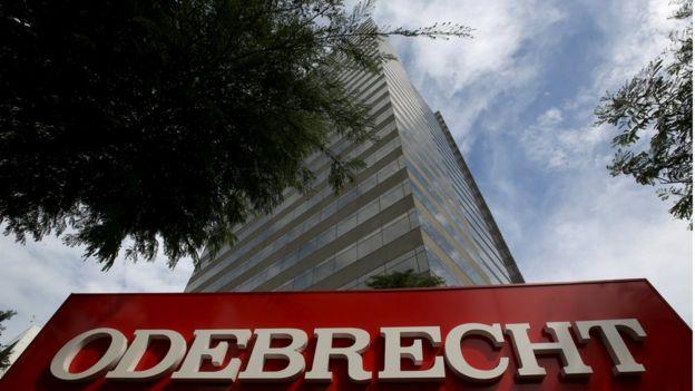 Fachada da Odebrecht em São Paulo