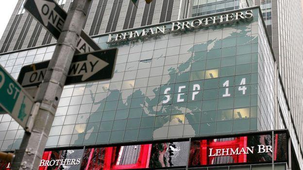 Lehman Brothers en Nueva York.